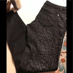 NICE Black Leopard print